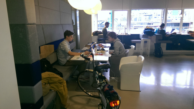 TriCycle at work at Startup Weekend Utrecht 2013
