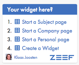 zeef-widget