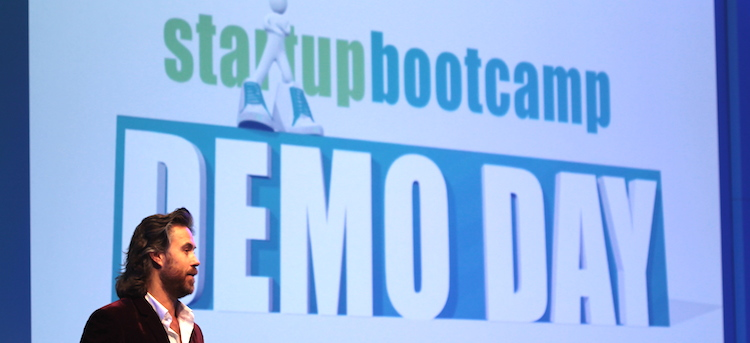 """""""Never give up"""" – Startupbootcamp Amsterdam Demo day 2014"""