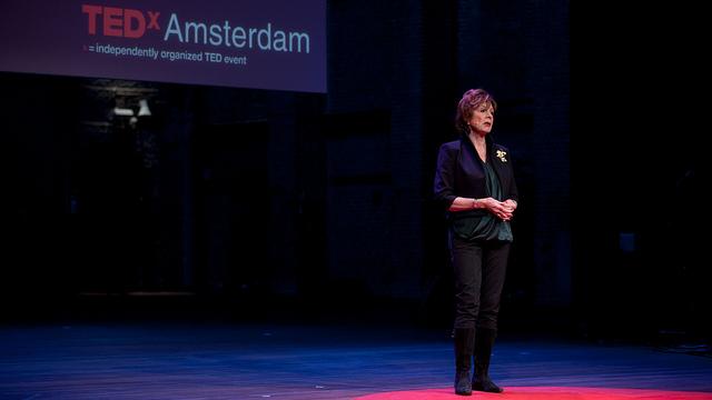 Neelie Kroes at Tedx Amsterdam 2014