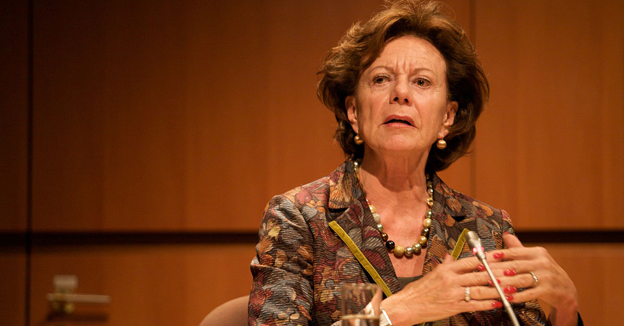 Ex-EU Commissioner Neelie Kroes Becomes Dutch Special Envoy For Startups