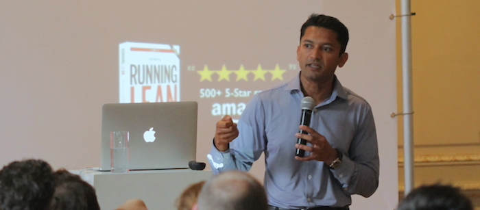 A startup-talk with Ash Maurya: 'Find the bottleneck of your happy-customer process'