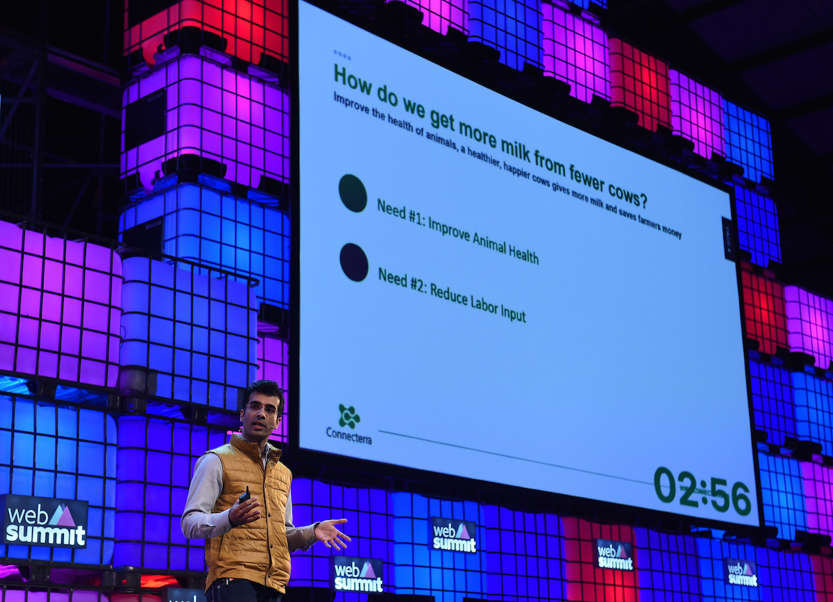 Connecterra wins Web Summit Alpha Startup PITCH Competition