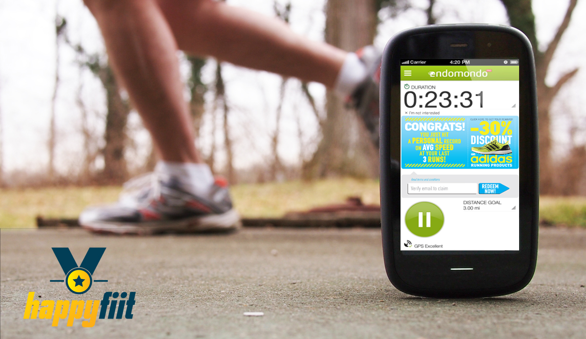 Greek startup Happyfiit combines running with rewards