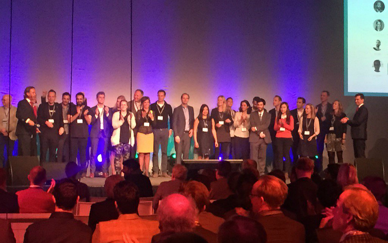 These 9 startups pitched during the Startupbootcamp HighTechXL Demo Day