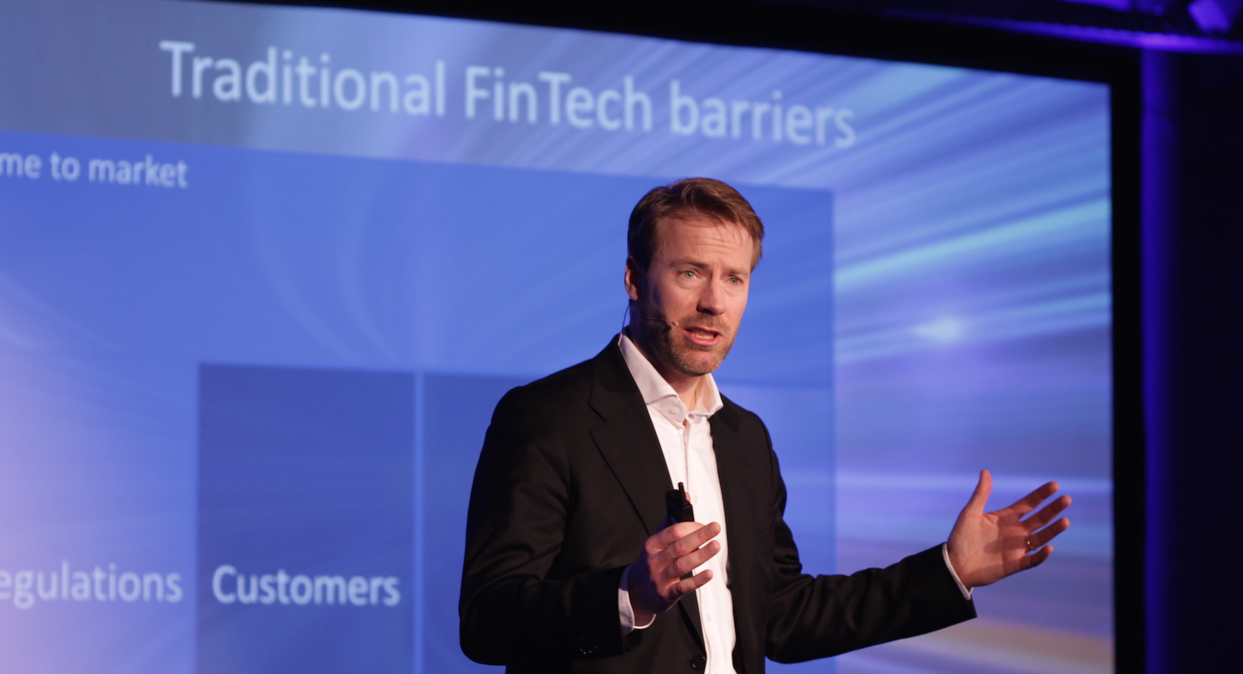 'A new love affair': banks meet fintech startups at Breaking Barriers