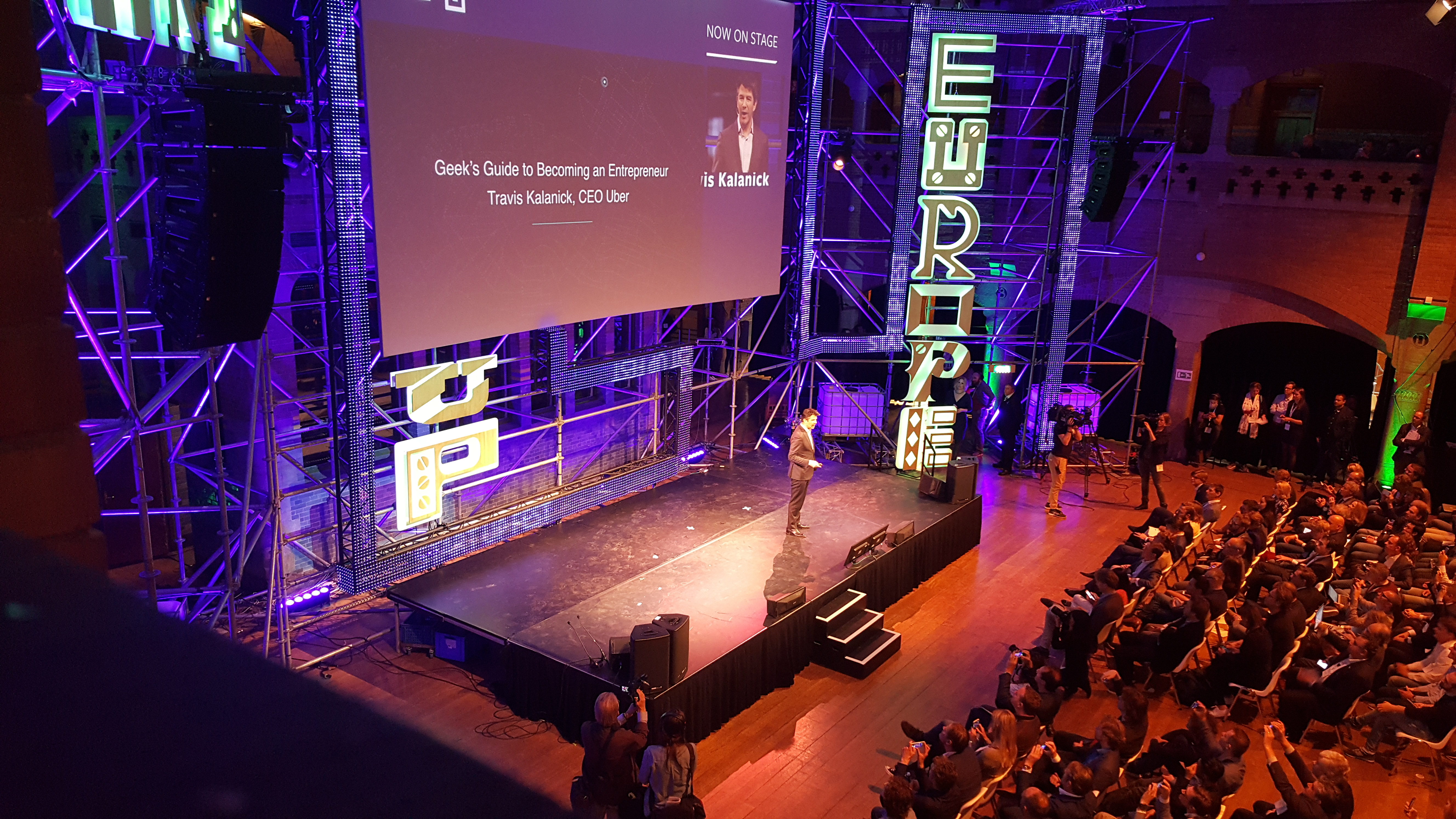 Startup Fest Europe Day 1: Europe's troubled legislation and Travis Kalanick's 'geek lessons'