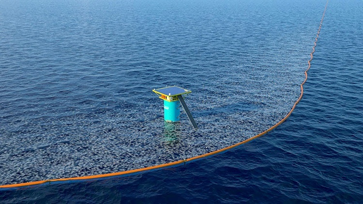 Ocean Cleanup removes plastic from North Sea with newly funded prototype