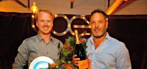 Bas Beerens (WeTransfer) and Hans Ober (Ticketswap) win LOEY Awards