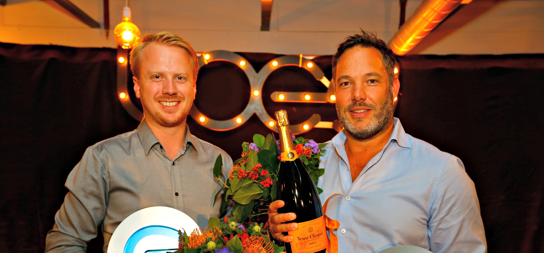 Bas Beerens (WeTransfer) and Hans Ober (Ticketswap) win LOEY Awards