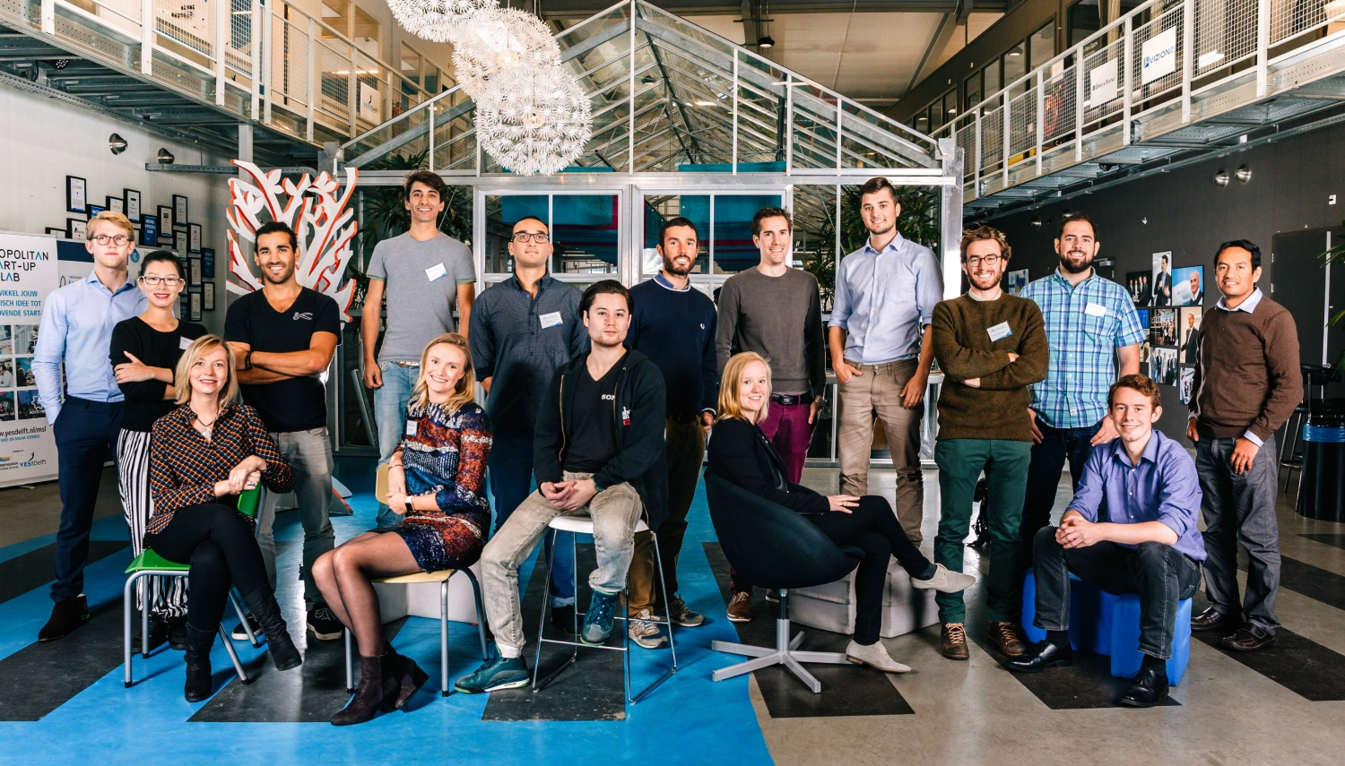 YES!Delft presents 17 new startups in incubator and LaunchLab