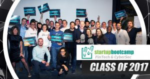 11 startups in Startupbootcamp's first Fintech & CyberSecurity programme