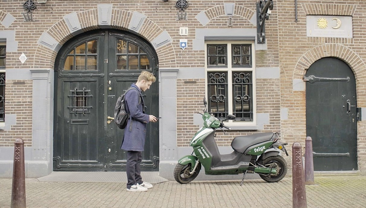 Felyx raises €850.000 to bring shared scooters to Amsterdam