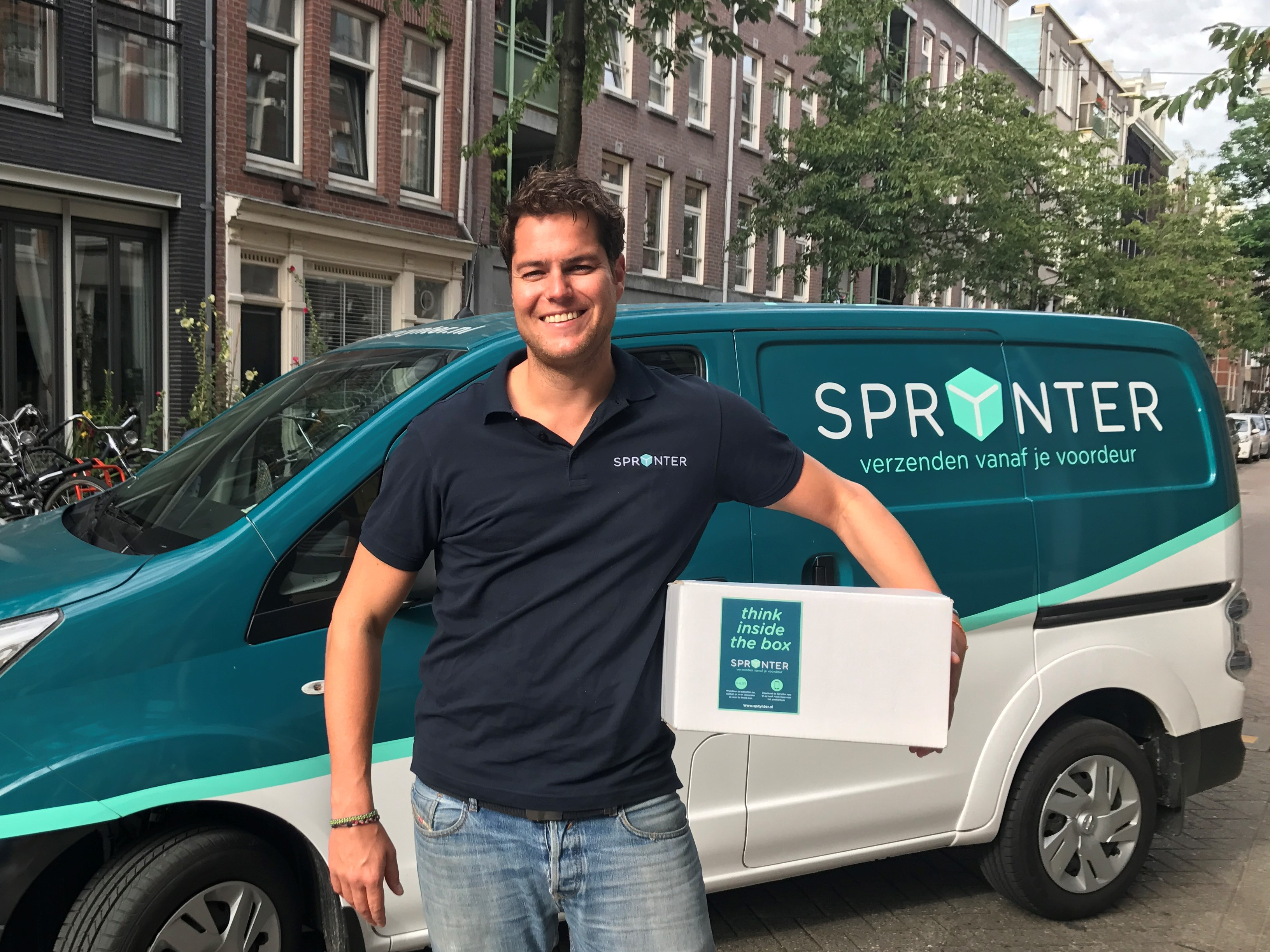 Sprynter solves package problems